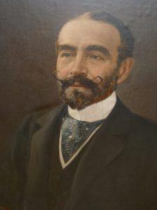 The Painting Of Sir Arthur Fairbairn By Charles Webb Moore