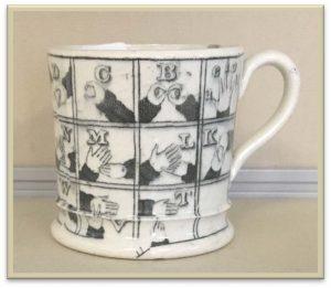 A 19thc Pearlware Mug