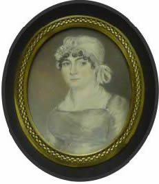 A Miniature Painting By Thomas Arrowsmith