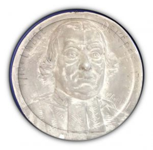 A Plaster Cast Of Abbé Charles-Michel De L'épée By Paul-François Choppin