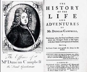 The History Of The Life And Adventures Of Mr. Duncan Campbell By Daniel Defoe
