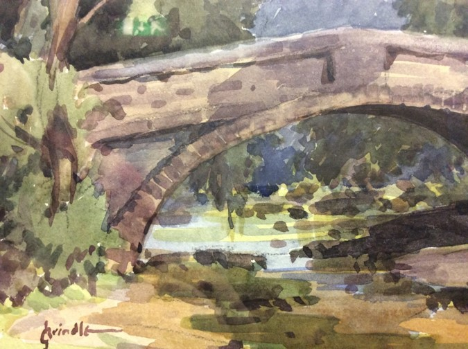 The Brindle Collection of Watercolours